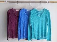 La Boutique Extraordinaire - Mode et Œuvres d'art textiles - 67, rue Charlot à PARIS ( FRANCE) - Collection Eté 2014  T- shirts en lin délavé Stefan Green