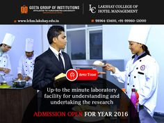 We provide up-the minute laboratory facility for good understanding and research. Admissions open at #LCHM for year 2016 Apply Today! Call- 98964-13400, +91-99960-51000 for details.