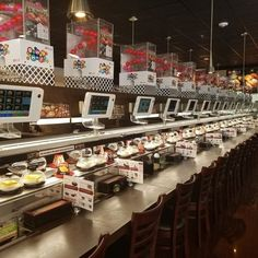 Kula provides fresh, healthy, and tasty Japanese food on a revolving belt for people to grab and try at their leisure.