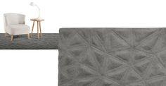 Tekari Large Wool Rug 160 x Slate Tapis Design, Berber, Office Rug, Lounge Decor, Large Rugs, Furniture Inspiration, Bedroom Inspiration, Bedroom Ideas, Italia