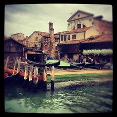 La Venezia più bella. Lo squero di San Trovaso