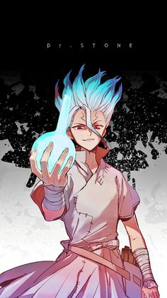Stone most popular and famous Wallpaper collection. Dr anime is new and famous manga series wallpaper. Otaku Anime, Art Anime, Manga Art, Anime Guys, Manga Anime, Image Swag, Kohaku, Stone Wallpaper, Stone World