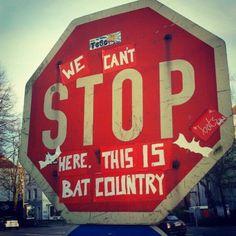 Hamburg, Bat Country  ♥ Fear and Loathing