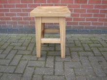 AKBS25 Solid Oak Stool www.cityfurnitureclearance.co.uk