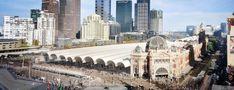 Herzog + De Meuron's winning proposal for their first Australian project: Flinders Street Station