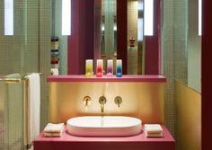 missoni bathroom, kuwait hotel