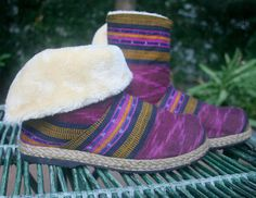Hey, I found this really awesome Etsy listing at https://www.etsy.com/ca/listing/260959904/womens-ankle-boots-in-berry-javanese