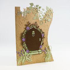 Rococo Fairy Inspiration - Tonic Gold Fairy Birthday Party, 3rd Birthday, Birthday Cards, Tonic Cards, Fairy Tea Parties, Tea Party Invitations, Elizabeth Craft, Fairy Doors, Die Cut Cards