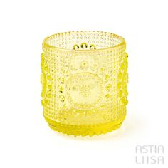 Riihimäki Grapponia Yellow Tumbler 15cl, designed by Nanny Still. Nordic vintage from Finland.  #アラビアフィンランド #北欧ヴィンテージ #北欧ヴィンテージ食器 #北欧食器#nordicdishes #nordicvintage #vintagedishes #レトロ食器 #ヴィンテージ食器 #Finnishdesign#nannystill #still #riihimäenlasi  #riihimäki #finnishglass #designglass #nordicdesign #scandidesign#ナニースティル #grapponia #グラッポニア