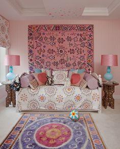 Martyn Lawrence Bullard — Portfolio  Modernist New York Penthouse chicest little girls room