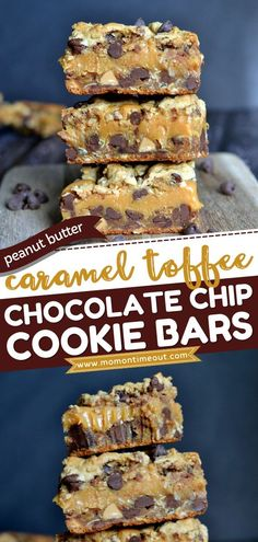 There's so much going on in this easy-to-make sweet treat! Chock full of caramel, toffee, peanut butter, and chocolate chips, this cookie bar recipe is sure to become your favorite dessert. Save this… Peanut Chocolate Bars, Chocolate Chip Cookie Bars, Chocolate Toffee, Chocolate Chips, Peanut Butter Recipes, Best Cookie Recipes, Peanut Butter Cookies, Yummy Recipes, Ginger Cookies