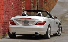2012 White Mercedes Benz SLK350 or whatever model you like, at the Regional Vice President level, thanks to Arbonne! (This one's MINE!)