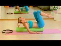 Upside-Down Pilates - Foam Roller - Lesson 60 - Full 30 Minute Pilates Workout -. - Upside-Down Pilates – Foam Roller – Lesson 60 – Full 30 Minute Pilates Workout – HD - Pilates Video, Pilates Workout Videos, Pilates Training, Youtube Workout Videos, Cardio Pilates, Pilates Moves, Pilates Body, Pop Pilates, Pilates For Beginners