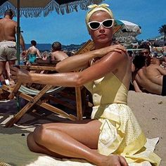 """68 Likes, 2 Comments - Morgenthal Frederics (@morgenthalfrederics) on Instagram: """"Perfection by the sea #inspiration #gracekelly #sunglasses #summer #seaside #elegance #perfection…"""""""