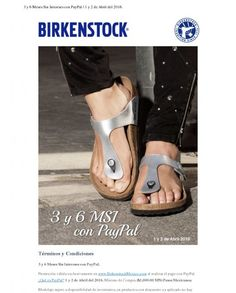 Birkenstock Newsletter Design Example