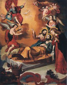 Catholic Doctrine, Catholic Art, Roman Catholic, Religious Art, Christianity, Colonial Image, Colonial Art, Sistine Madonna, Jesus Christ Images