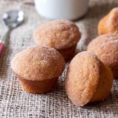 Cinnamon Sugar Pumpkin Muffins: Sweet October perfection.