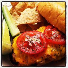 Garlic Bread Tuna Melts