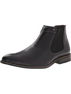 John Fluevog Men\'s Locke Chelsea Boot, Brown, 13 M US ❤ John ...