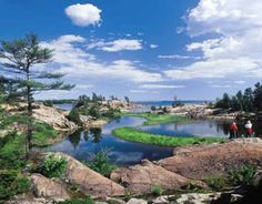 2014 Ontario Scenic Promo Calendar -May 2014 - Killarney Canada Wall, Calendar May, Ontario, Mindset, Positivity, Chart, River, Outdoor, Image