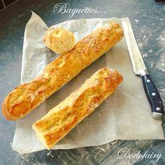 Baguettes croustillantes