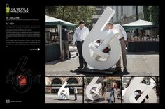 Odis Lock: Numbers. Agency: Ogilvy & Mather, Chile.