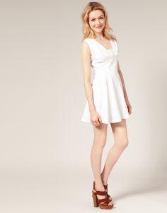 white embroidery anglais dress