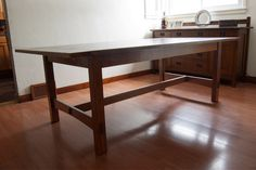 Rickety Furniture   Arts And Crafts Dining Table