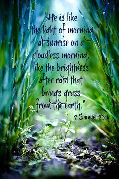2 Samuel 23:4
