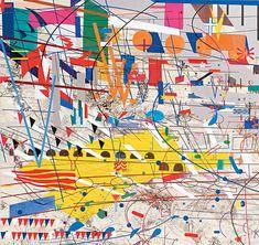 """Stadia II,"" detail (2004)   Art21   PBS"