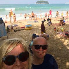 Me aamulenkillä! Hölkkäiltiin Kata Beachilla. #thailand #thailand_ig #phuket #katabeach #familytime #holiday #loma #futuremarja
