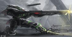 XL-11 Assassin by PeterPrime on deviantART