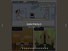 PhotoSnack | Libera Photo Slideshow Maker  FUMMETTO SU SANPAOLO REALIZZATO CON TOONDOO