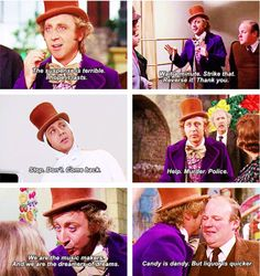 One of my FAVORITE MOVIES of all time!!! Willy Wonka and the Chocolate Factory, 1971