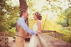 """My best friend got married"" their wedding day, newlyweds, bride and groom, poses, portraits, editorial, Reiman Gardens:  Ames, Iowa © audrey tyler jones photography"