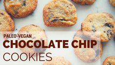 Make these paleo, vegan chocolate chip cookies ASAP! | Vegan Baking | Delicious Living Blog