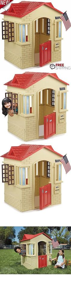Permanent Playhouses 145995 New In Box Victorian Inn Wooden