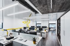 Image 11 of 26 from gallery of Office Design / IND Architects. Photograph by Alexey Zarodov