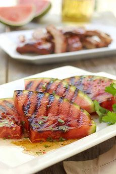 Watemelon Board watermelon recipes that fall into the Side-Dishes category. Please enjoy these exciting and tasty watermelon recipes! Vegan Grilling, Grilling Recipes, Cooking Recipes, Grilled Watermelon, Watermelon Recipes, Watermelon Healthy, Watermelon Drinks, Quinoa, Barbecue