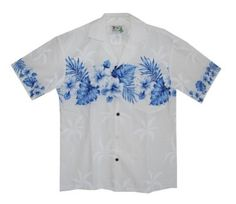 Oooh another dressy Hawaiian for dad... LOL...Exclusive Hawaiian Shoulder Fern Aloha Shirt