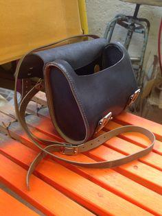 Mini messenger bag by wolfram lohr