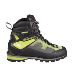 Lady Charpoua Gore-Tex  Millet women shoes for alpinism.  Comfortable, flexible, lightweight and versatile women's mountaineering boot. Ideal for easy summer mountaineering, glacier approach work, highaltitude walking, and winter snowshoeing. Originated and tested in the Mont Blanc Massif, made in Italy.