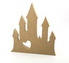 18MM Freestanding Castle blank craft shapes http://www.lornajayne.co.uk/