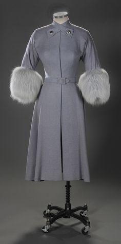 Helen Rose coat worn by Susan Hayward in I'll Cry Tomorrow, 1955.