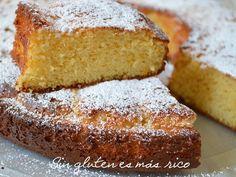 Sin gluten es más rico: Bizcocho de mermelada de naranja y almendra, sin g...