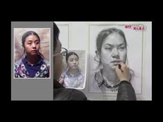 Girl portrait drawing - How to Draw the Female Face