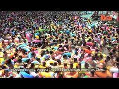 Drukste zwembad ter wereld Dead Sea in Saying in China