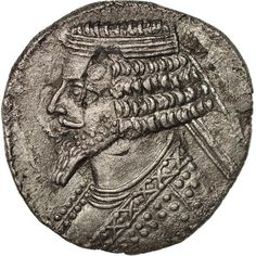 Unfortunately, this collectible item is no longer available ! ➽ Ask us to find it for you : Phraates IV Parthia Tetradrachm Silver. Parthian Empire, 50th, Oriental, Coins, Silver, Inspiration, Collection, Biblical Inspiration, Coining