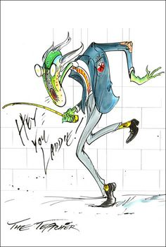 """Pink Floyd """"The Wall"""": Gerald Scarfe."""