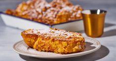 Corn flakes bundás french toast recept | Street Kitchen Corn Flakes, Naan, Nutella, Quiche, Banana Bread, French Toast, Desserts, Street, Food